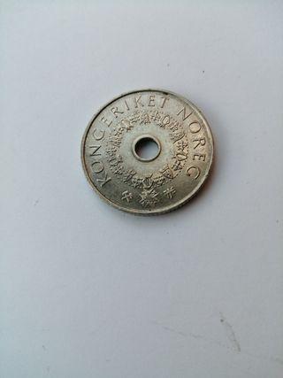 Antigua moneda de Noruega