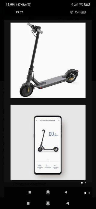 patinete electrico Xiaomi essencial