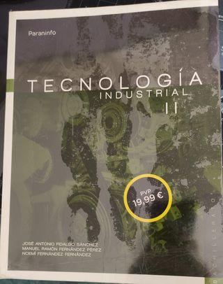 Libro Tecnologia Industrial Paraninfo 2 bach