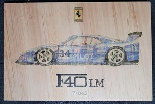 Cuadro Ferrari F40 LM