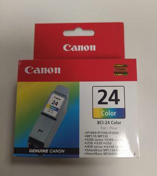 Cartucho de tinta Canon BCI-24.