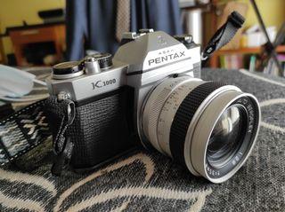 PENTAX K1000 + Objetivo 35mm 2.8