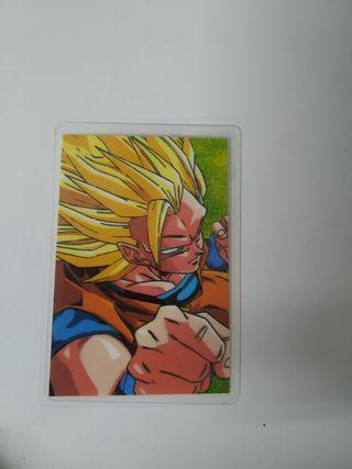 DRAGON BALL RAMI CARD ORIGINAL AÑO 1989