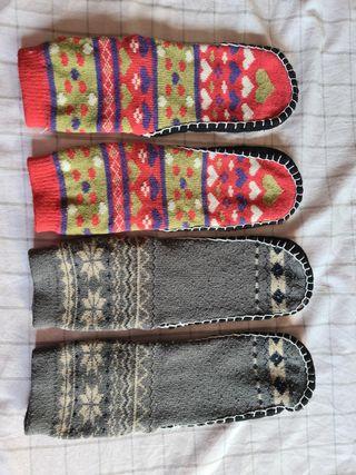 Zapatillas / calcetines para casa