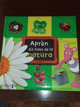 libro aprende nombres d la naturaleza