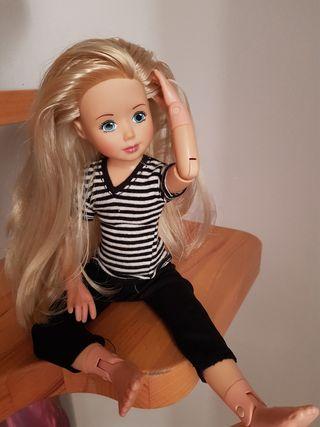 muñeca articulada