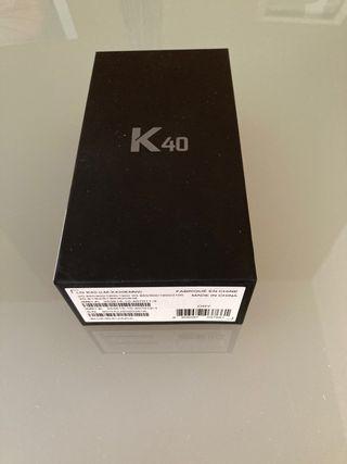 Teléfono LG K40 nuevo