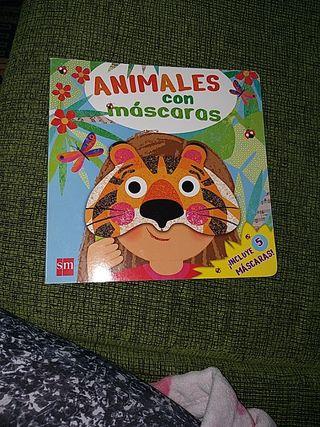 Animales con mascara