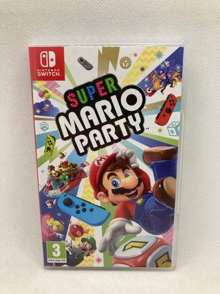 Súper Mario party Nintendo switch