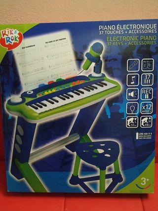Piano electrónico infantil Rik Rok