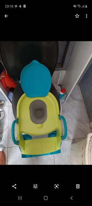 wc niños se adapta al water