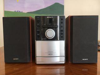 Sony minicadena CD/Mp3/Cassette Hifi
