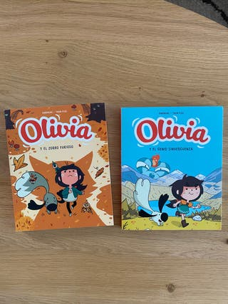 Pack 2 libros Olivia