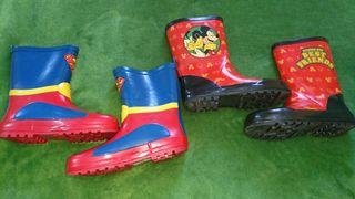 Pack botas de agua núm 32