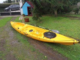 kayak canoa mar pesca