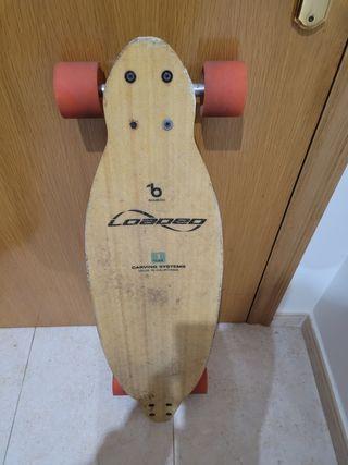 longboard loaded