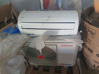 aire acondiciona Johnson sin uso la placa esta mal