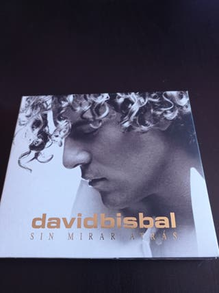 "David Bisbal ""Sin Mirar atrás"" Ed. Deluxe."