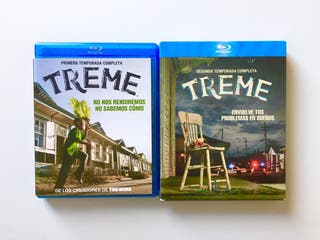 TREME blu-ray. Temporadas 1 y 2. HBO. The Wire.