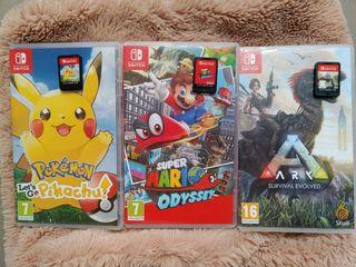 (VENTA/CAMBIO) 3 Juegos para Nintendo Switch