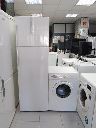 oferta espacial nevera + lavadora