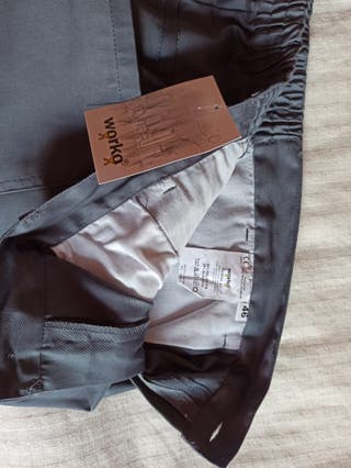 Pantalón de trabajo, multibolsillos t. 46