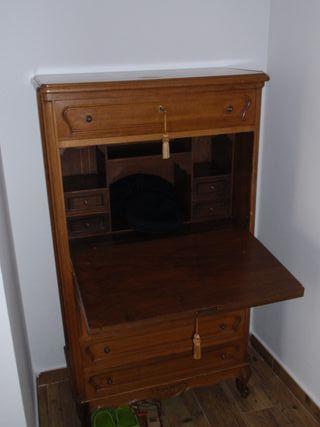 Sifonier escritorio cómoda alta antiguo