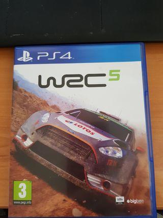 PS4 - juego rallies - WAC 5