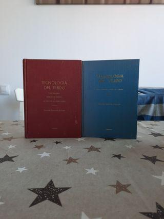 Libros tecnológias del tejido Vicente Galceran