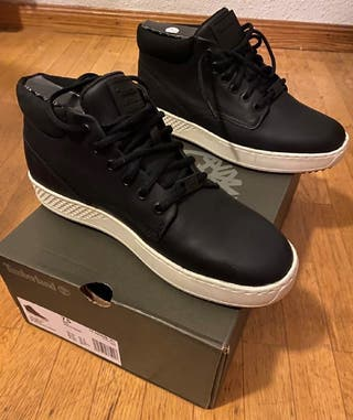 Timberland negras zapato bota negra.