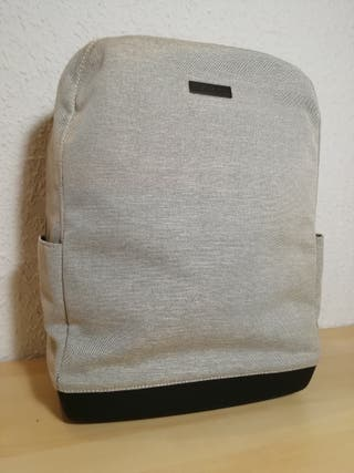 MOLESKINE Backpack Mochila 15 canvas white beige
