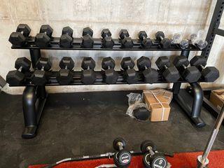 Pesas gimnasio peso libre