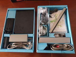 Consola Wii + tabla ejercicios + 8 juegos