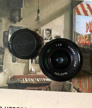 Objetivo Itorex 28mm f/2.8 montura Pentax K