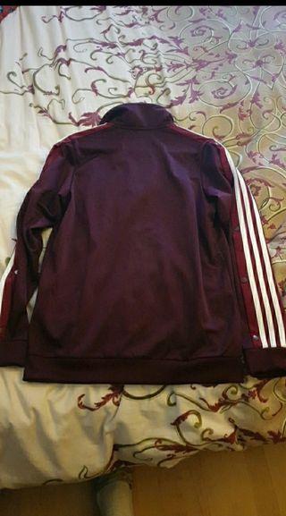 chaqueta superior de chandal adidas, talla 38 (S)