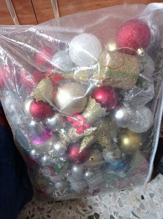 bolas adorno árbol navidad