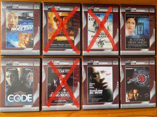 Películas DVD 1,50€ URGE