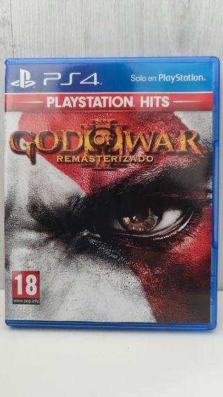 God of War III Remasterizado PS4.