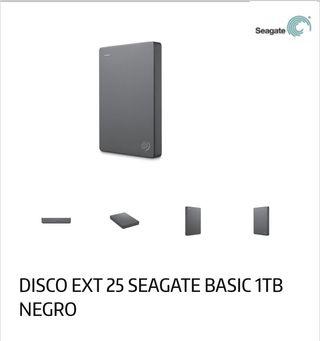 Disco duro externo Seagate 1TB TO