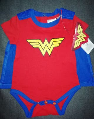 Body de super héroe wonder woman