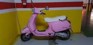 vespa lx50 rosa edición limitada