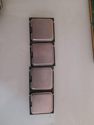 procesadores 1 es dual core otro Dual Core 2 Dúo