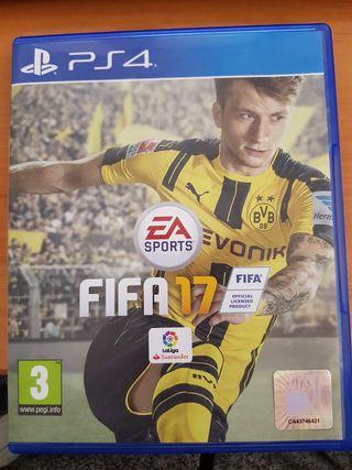 PS4 - juego FIFA 2017