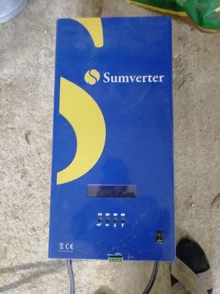 Inversor placas solares