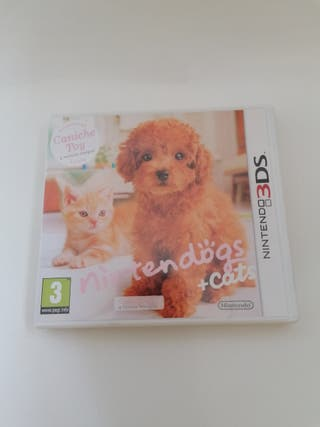 Juego NINTENDOGS + CATS CANICHE TOY 3DS