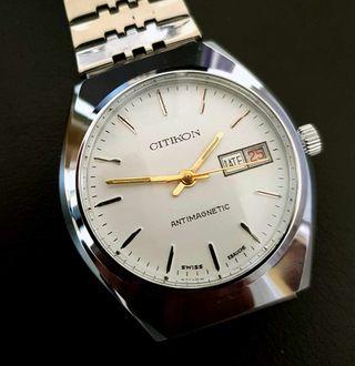 191/01-Reloj CITIKON de cuerda, vintage, NOS (new