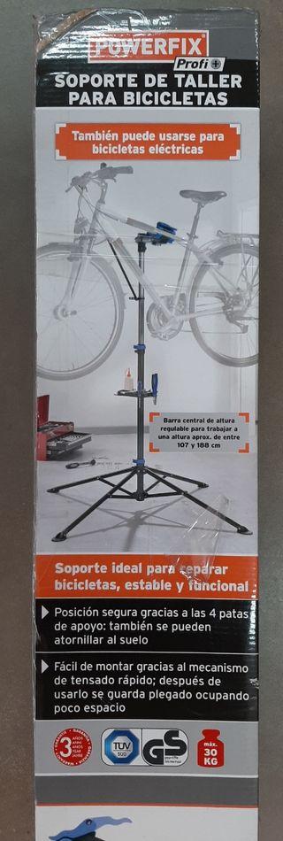 Soporte taller para bicicleta a estrenar.
