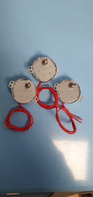 Motores AC 12v ,5/6 RPM
