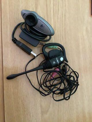 Cámara y micrófono