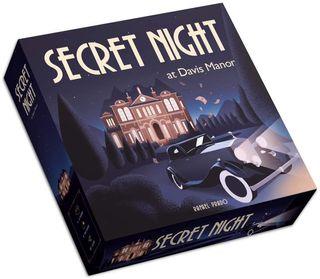 Secret Night at Davis Manor Juego de Mesa NUEVO